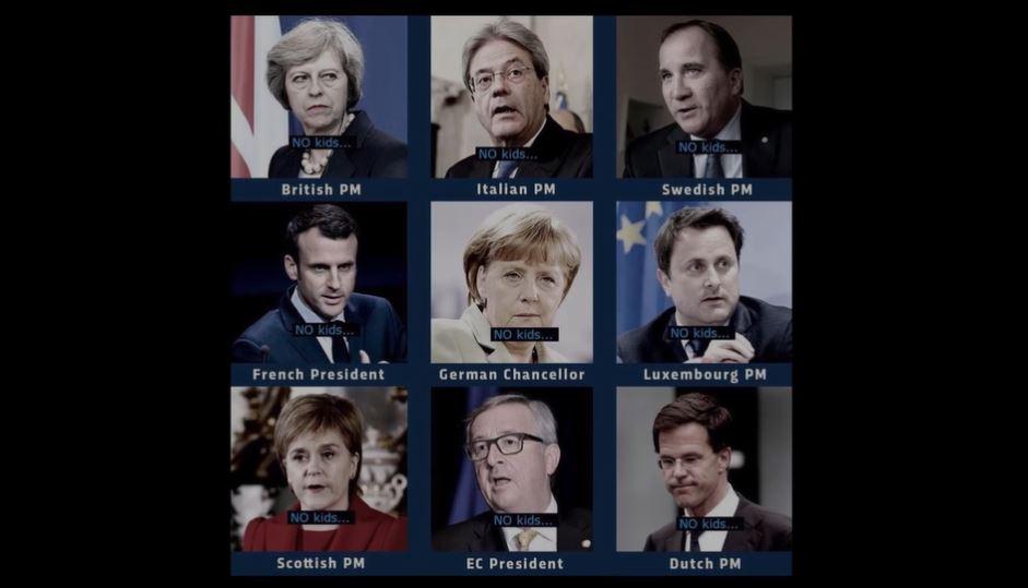 Unsere europäischen Führer, die wie A.H. ihre Gene zum Glück nicht weitergeben